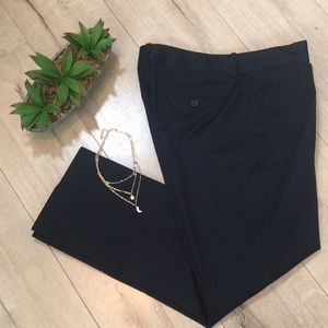 Theory navy cotton dressy tailor pants